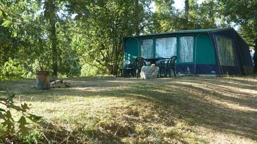 Lac de veronne d camping van france individuelle - Caravan ingericht ...